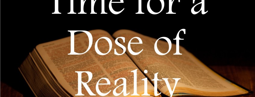 Sermons - Dose of Reality
