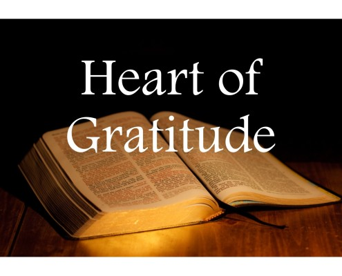 Sermons - Heart of Gratitude