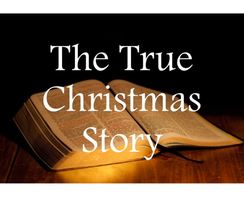 Sermons - True Christmas Story