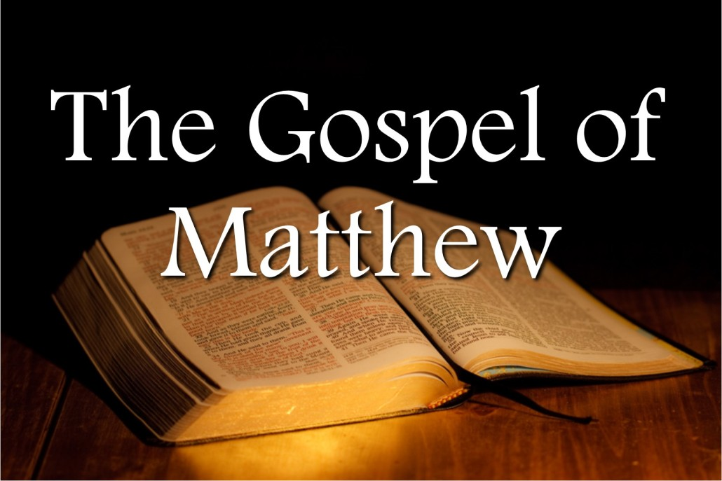 a paper on the gospel of matthew Free essay: the teachings of matthew the gospel according to matthew is the first book in the new testament, and also serves as a bridge between the old.