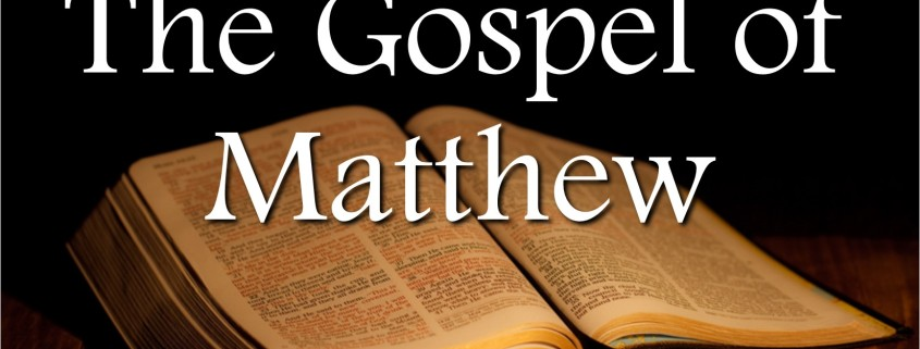 Sermons - Gospel of Matthew