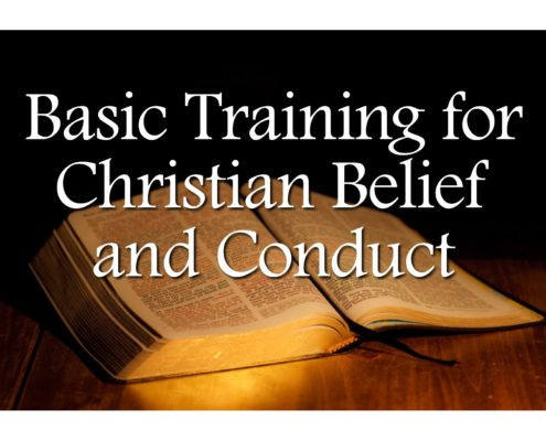 Sermons - Basic Training