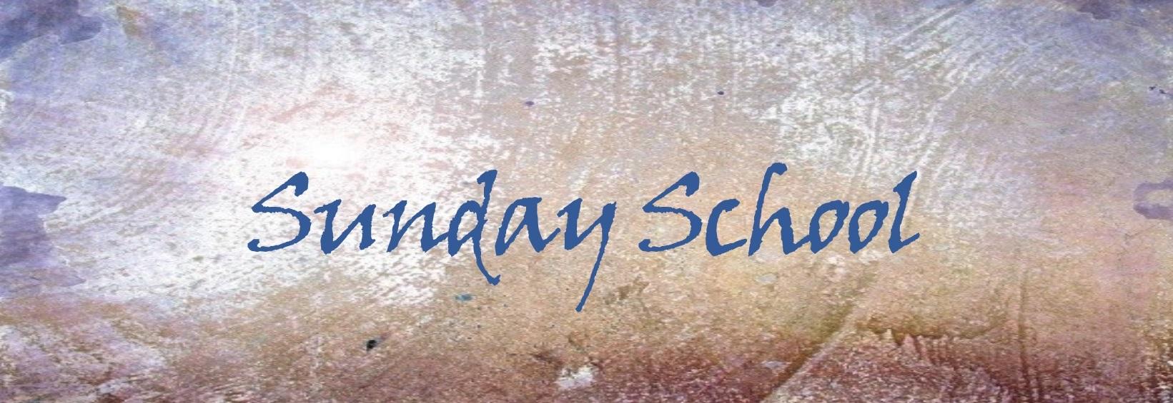 Sunday School Slider