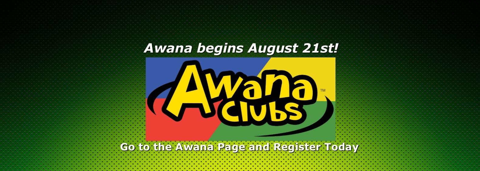 Awana Registration Slider 2019